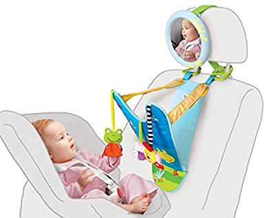 All in One Baby Car Toy, Keeps Both Baby and Parent Calm and Happy While in Car by Taf Toys that we recomend individually.