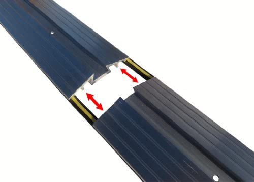 Weather Stop WS012-200 2 m x 25 mm High Commercial Door Threshold Seal Kit-White