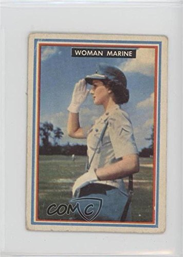 Woman Marine COMC REVIEWED Poor to Fair (Trading Card) 1953 Topps Fighting Marines - [Base] #16 by Topps