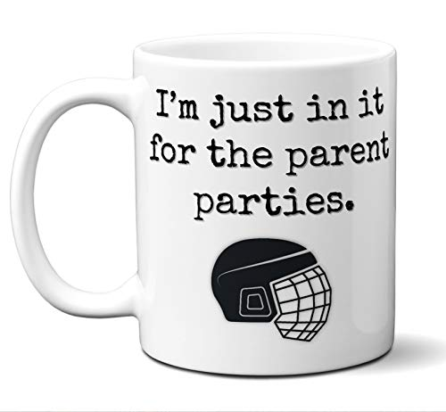 Hockey Mom Hockey Dad Gift Mug.