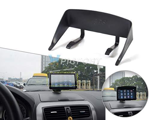 DDV-US Car Black Universal Lens Hood Sunshade Protector for 4.3-5 inch Car GPS Navigator & Phone with a 4.3