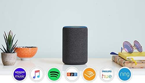 Amazon Com All New Echo 3rd Gen Smart Speaker With Alexa