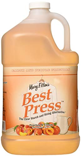 Mary Ellen Products 60132 Best Press Peaches and Cream Spray Starch for Ironing