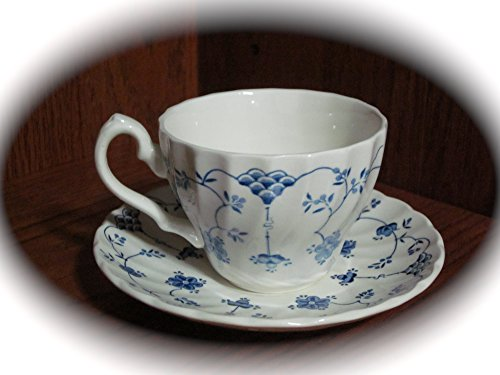 Vintage Myott Finlandia Fine Staffordshire Ware Cup And - Staffordshire Saucer Cup