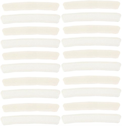 Absorbent Collar Liners - Shirt Neck Protecting Liner Pads Keep You Dry Prevent Odors and Stains (20) (Dress Shirt Wrinkle Remover compare prices)