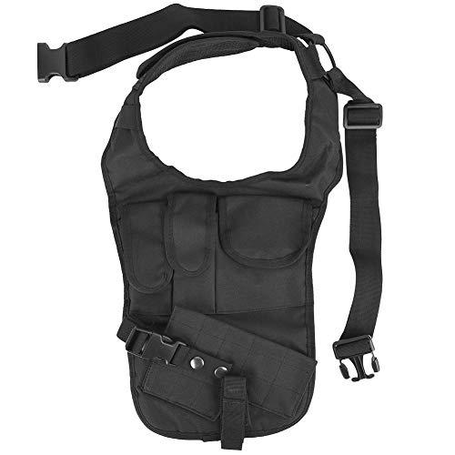 Tactical Waist-Nylon Black Military Underarm Concealed Pistol Gun Holster Armpit Shoulder Pouch