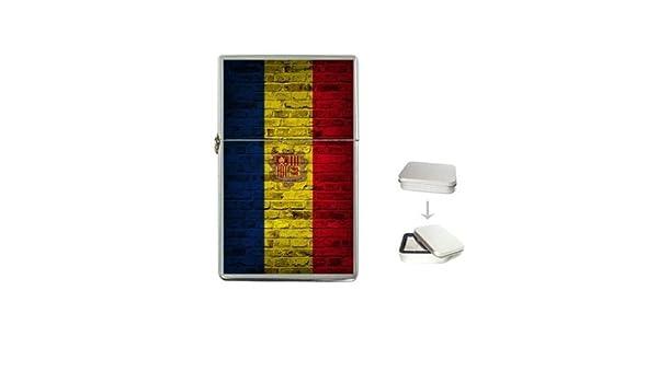 Amazon.com: Andorra Flag Brick Wall Design Lighter: Health & Personal Care