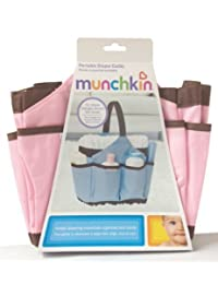 Munchkin Portable Diaper Caddy Pink BOBEBE Online Baby Store From New York to Miami and Los Angeles