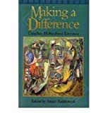 Making a Difference : An Anthology of Ethnic Canadian Writing, , 0195410785