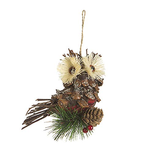 Darice 5 Inches Brown Owl Holiday -