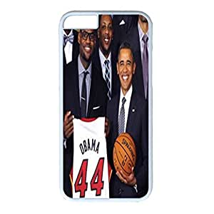 Iphone 6 Case,Hard PC Iphone 6 Protective Case for Ultimate Protect iphone 6 with NBA star and Obama by Maris's Diary
