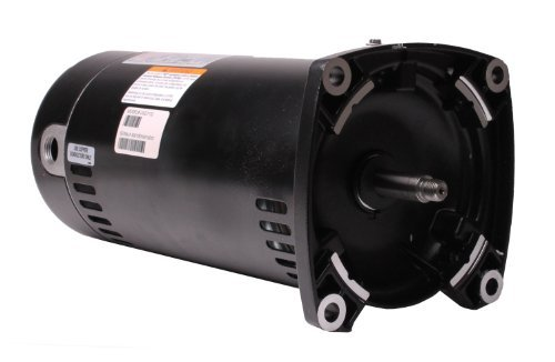 Century USQ1152 1-1/2 HP, 1.1 Service Factor, 48Y Frame, Capacitor Start/Capacitor Run, ODP Enclosure, Square Flange Pool Motor ()