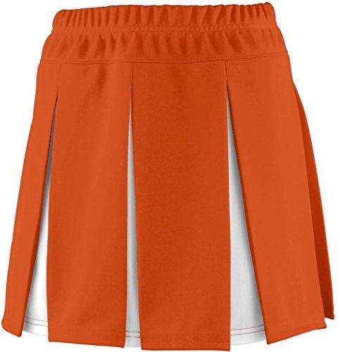 Augusta - Jupe - Femme orange/blanc