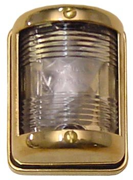 Stern Navigation Light Brass w/ 10 W Bulb Victory ''Elite'' FS0017DB by Victory