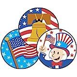 American Pride (Apple Pie) Stinky Stickers-Large Round