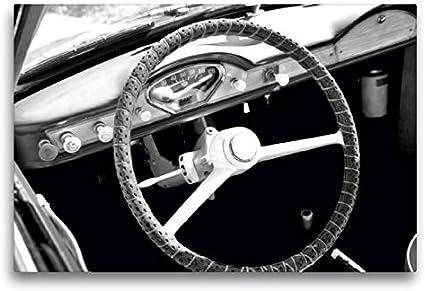 CALVENDO Lienzo de 75 x 50 cm Horizontal, diseño de Calendario Goggomobil Coupè 250 TS en Blanco y Negro, Imagen sobre Bastidor. Lienzo, impresión en Lienzo Mobilitaet Mobilitaet