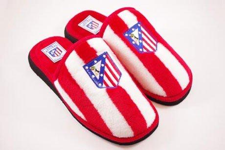 FUTBOL Zapatillas de casa Atlético de Madrid 24 al 34-26: Amazon ...