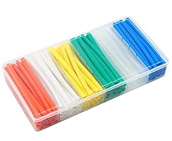 Waterproof Electrical Wire Cable Wrap Assortment Electric Insulation Heat Shrink Tube Kit MCIGICM 127pcs Heat Shrink Tubing 2:1 7 Sizes