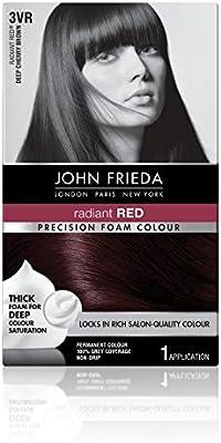 Amazon Com John Frieda Precision Foam Colour Deep Cherry Brown 3vr