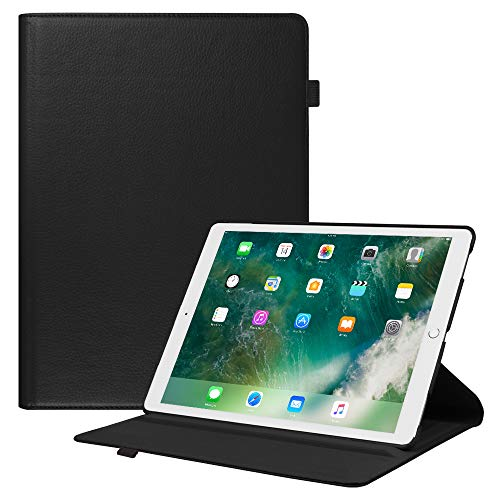 Fintie iPad Pro 12.9 2017/2015 Case - Multiple Angles Stand Case with Smart Protective Cover Auto Sleep/Wake for Apple Pro 12.9 (1st Gen) / iPad Pro 12.9 (2nd Gen), Black
