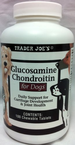 Trader Joe's Glucosamine Chondroitin for Dogs
