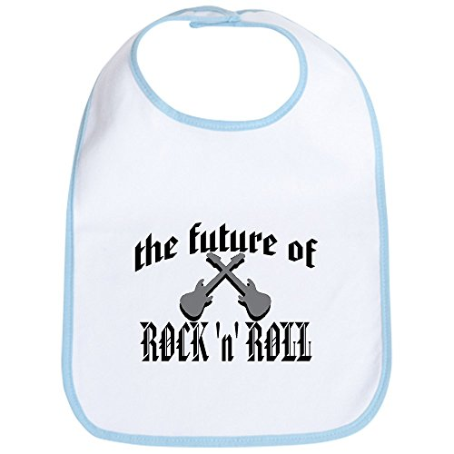 CafePress - the future of rock 'n' roll Bib - Cute Cloth Baby Bib, Toddler Bib