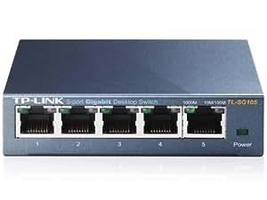 TP-Link 5-Port Gigabit Ethernet Steel Desktop Switch (TL-SG105)