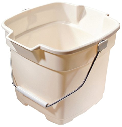 Rubbermaid Roughneck Heavy-Duty Utility Bucket, 12-Quart, Bisque
