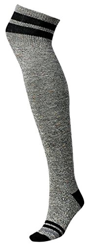 Smartwool Women's Retro Tube Socks Black Socks MD (Women's Shoe 7-9.5)