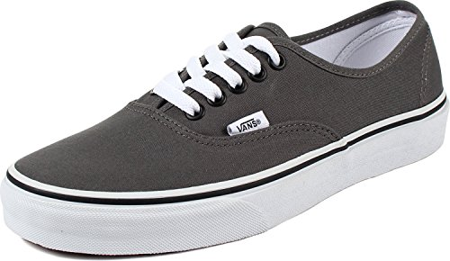 Vans Unisex Authentic Core Skate Shoes Pewter/Black 10