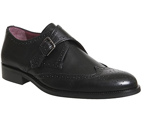 Poste , Herren Schnürhalbschuhe Black Leather