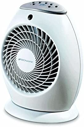 Bionaire oscilante un toque el calentador de ventilador, enchufe ...