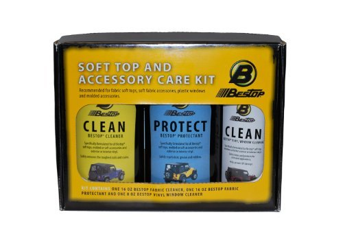 Bestop 11205-00 Jeep Soft Top Cleaner and Protectant Pack by Bestop -