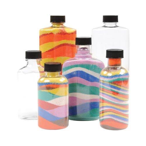 Sand Art Bottles - Set of 8