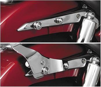 Paladin Quickset3 Mounting - National Cycle Paladin Quickset Mounting System for V-Star 1300 P9BR308