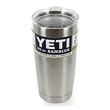 Yeti Rambler Stainless Steel Tumbler With Lid - 20 oz