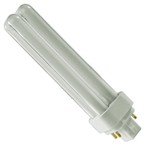 (12 Pack) PLC-18W 835, 4 Pin G24q-2, 18 Watt Double Tube, Compact Fluorescent Light Bulb, Replaces SYLVANIA 20672 - CF18DD/E/835/ECO and Philips 38332-3- PL-C 18W/835/4P/ALTO 18w Compact Fluorescent Bulb