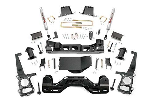 Rough Country - 598S - 6-inch Suspension Lift Kit w/ Performance 2.2 Shocks (3 Inch Lift Kit For Chevy 1500)