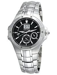 Seiko SNP007 Mens Coutura Kinetic Perpetual Watch