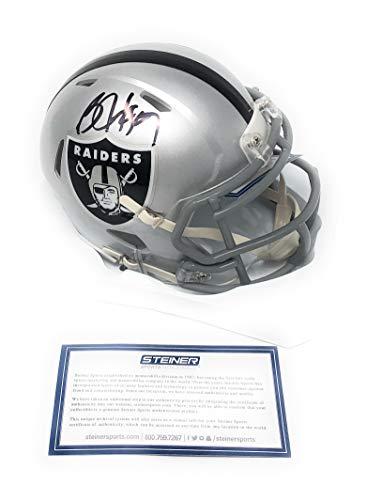 Autograph Oakland Athletics - Bo Jackson Oakland Raiders Signed Autograph Speed Mini Helmet Steiner Sports Certified