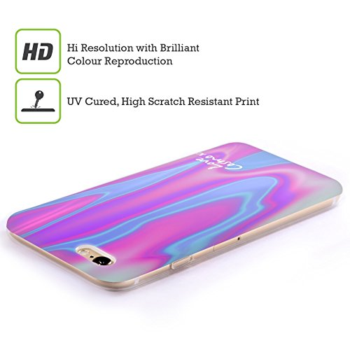 Official Cosmopolitan Pink Blue Iridescence Soft Gel Case for Apple iPhone 6 Plus / 6s Plus