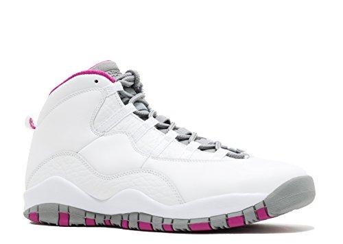 Nike Air Jordan X 10 Retro Maya Moore MM GG AA2900-159 White/Fuchsia Flash Kids Shoes (5.5Y)
