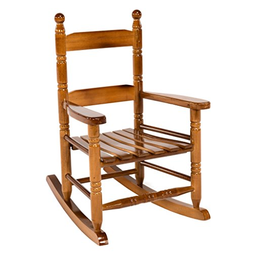 Classic Rocking Chair for Children, Oak by JackPost
