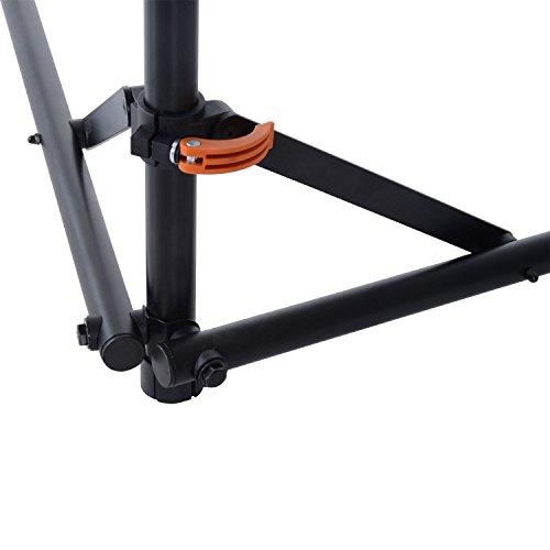 Hoist Gym Equipment Dubai: HOMCOM Folding Bike Cycle Bicycle Repair Stand Adjustable