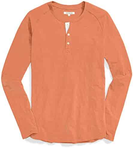 45855bd45f59 Amazon Brand - Goodthreads Men's Long-Sleeve Lightweight Slub Henley