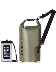 Unigear Bolsa Estanca 2L~40L Seca Impermeable + Funda De Movíl Camping Playa