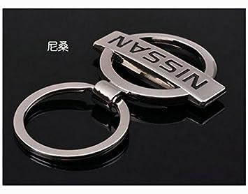 Llavero con logo de Nissan: Amazon.es: Coche y moto