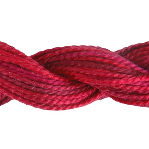 DMC 415 5-4210 Color Variations Pearl Cotton Thread, Size 5, 27-Yard, Radiant Ruby