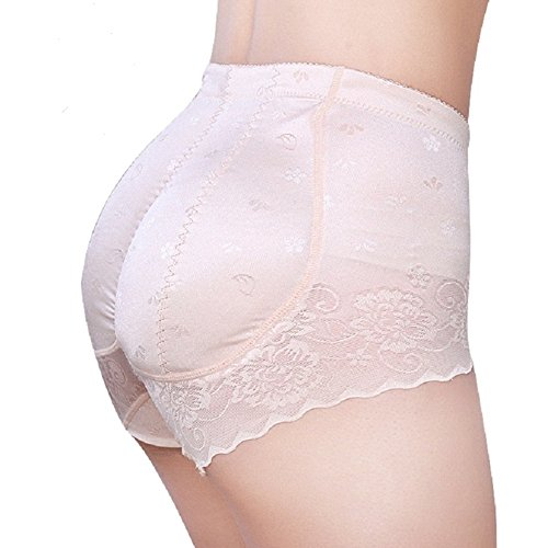 ShangMu Women's Padded Seamless Panty Silicone Butt Pads For Women M(Tay With L), 1cm Ve Silicone