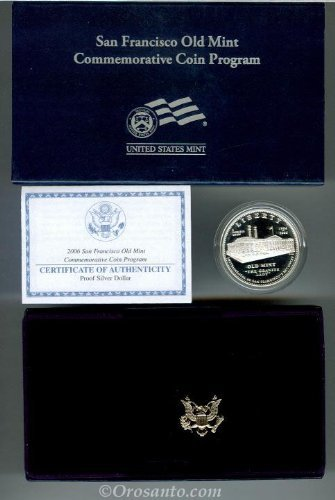 2006 S San Francisco Old Mint Proof Silver (San Francisco Old Mint Proof)